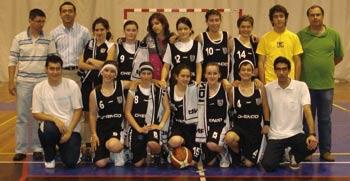 Vigorosa alcançou 2º lugar em Basquetebol