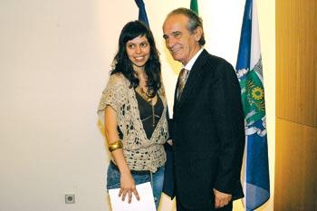 Marlene Ferraz recebeu prémio Matilde Rosa Araújo