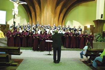 Coros participam em Um Dia Pela Vida