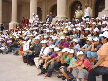 Fátima recebeu mais de 25 mil crianças