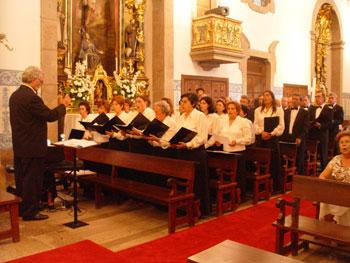 Orfeão na Missa de Aniversario do Padre Serra
