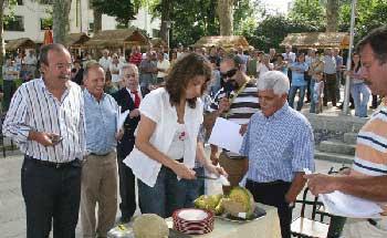 Concurso de melão em Santo Tirso