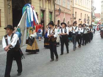 Cantares de Santiago em Praga