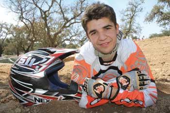 Piloto trofense no Motocross Nacional