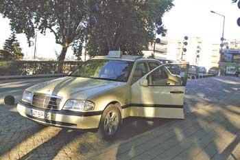 Táxis autorizados a usar videovigilância