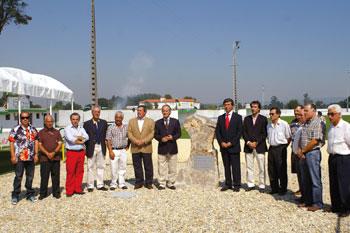 Inauguração do renovado Parque de Jogos da Ribeira