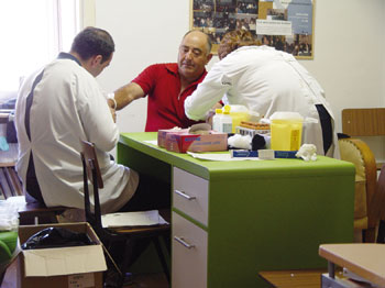 Rotary organiza rastreio em Guidões