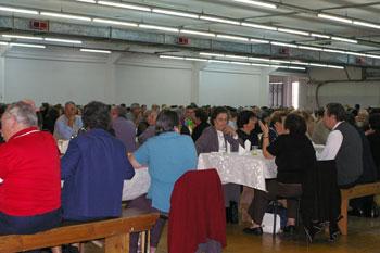 Almoço/convívio junta idosos do concelho