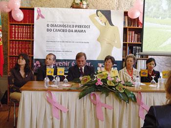 Semana de sensibilização contra o cancro da mama