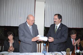Rotary da Trofa homenageou Alfredo Carriço