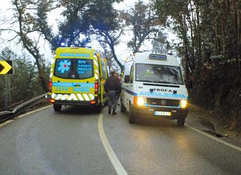 Ambulância do INEM já está a funcionar