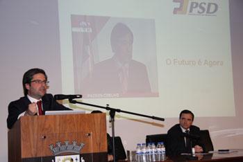 Candidatura de Passos Coelho reuniu militantes na Trofa