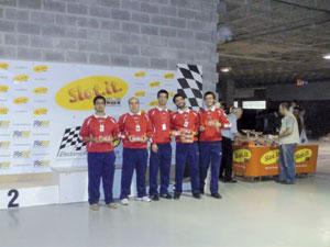 Troféu de velocidade no Clube Slotcar da Trofa/GMLUX