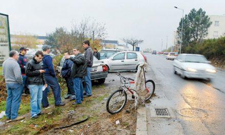 Cinco mulheres atropeladas, duas em estado grave