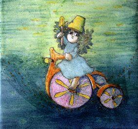 Brinquedos tradicionais inspiram exposição de desenho e pintura