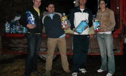 Clubes Rotaract recolheram 300 quilos de tampinhas