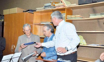 Banda de Música homenageou músico José Costa