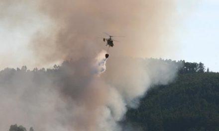 Incêndios em Guidões e Vilares