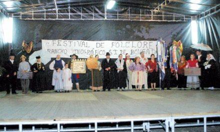 Parque encheu para receber Festival de Folclore