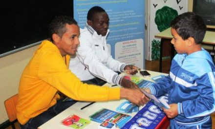 Nildo e Ouattara promovem Trofintas na EB1 de Casal