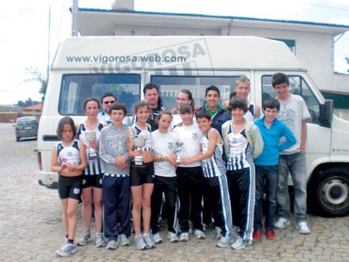 Ginásio da Trofa e Vigorosa no Torneio Olímpico Jovem