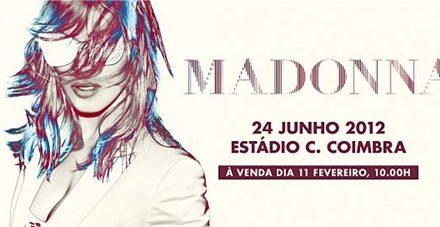 Madonna ao vivo em Portugal