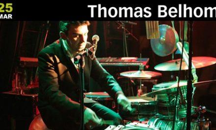 Thomas Belhom confirmado no Festival para Gente Sentada