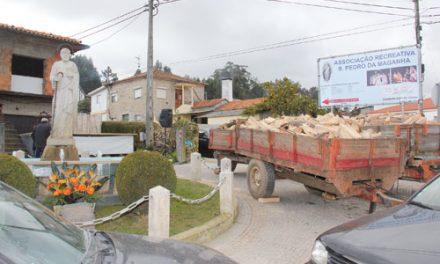 S. Pedro da Maganha angaria dois mil euros em leilão