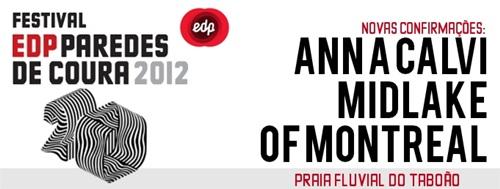 Anna Calvi, Midlake e of Montreal Confirmados no Festival EDP Paredes de Coura