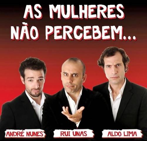 """""""As Mulheres não Percebem"""" no Teatro Municipal de Vila do Conde"""