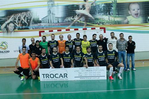 """Futsal Trofa """"em peso"""" na equipa líder da série A da 3ª Nacional"""