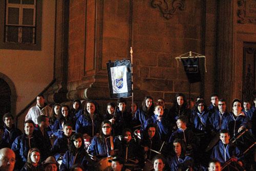 Fanfarra de Alvarelhos no encerramento da CEJ de Braga