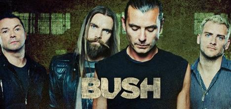 Bush confirmados no Festival Marés Vivas 2013