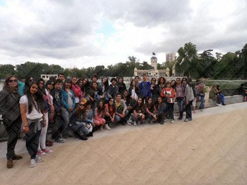 Clube Europeu – Alunos da Secundária da Trofa visitaram Madrid