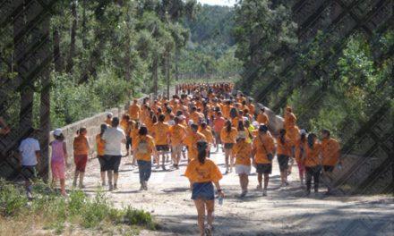 Mais de 300 pessoas na Caminhada Turística