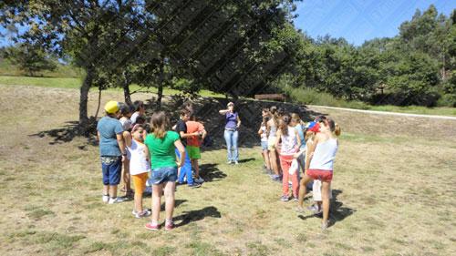 Jovens divertem-se no Parque S. Pedro de Avioso