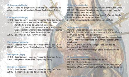 Programa Festas Sra das Dores 2013