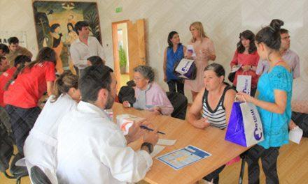 Feira da saúde no Centro Social de S. Mamede