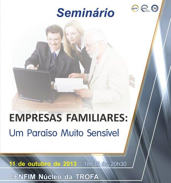 Núcleo da Trofa do CENFIM organiza seminário dedicado às empresas familiares