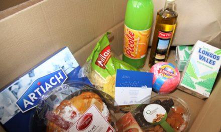 800 cabazes entregues a famílias desfavorecidas