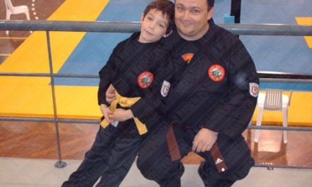 Karateca trofense campeão nacional