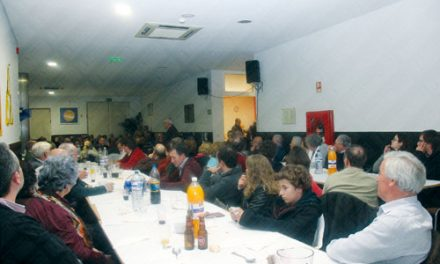 Jantar com sabor a fado contou com 150 pessoas