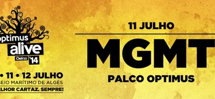 MGMT confirmados no Optimus Alive'14