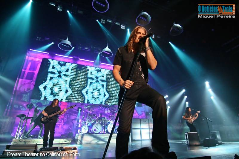 Dream Theater no Coliseu do Porto Foto-Reportagem