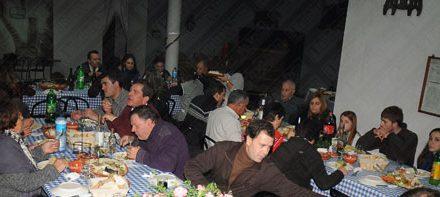 Jantar de Reis juntou componentes do Folclórico da Trofa