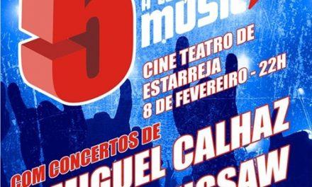 Festa do 5.º Aniversário do blog A Certeza da Música