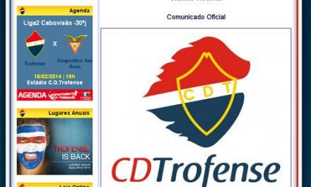"""Trofense quer reunião """"urgente"""" com Comissão de Arbitragem da Federação"""