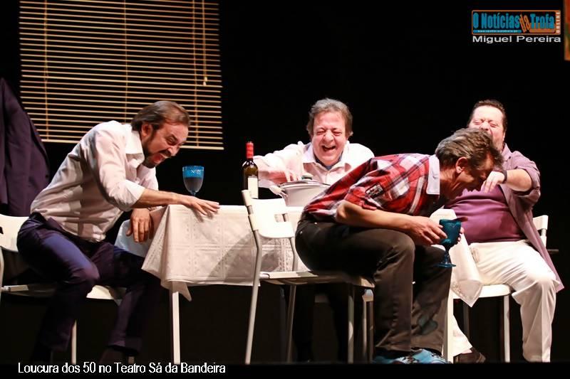 Loucura dos 50 no Teatro Sá da Bandeira Foto-Reportagem