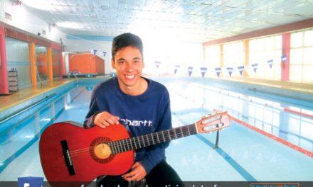 O atleta de polo aquático que virou estrela de TV (c/ vídeo)