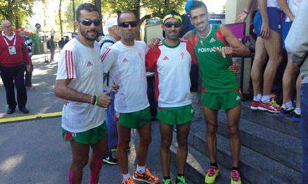 """Dores musculares"" impedem Rui Pedro Silva de terminar maratona"